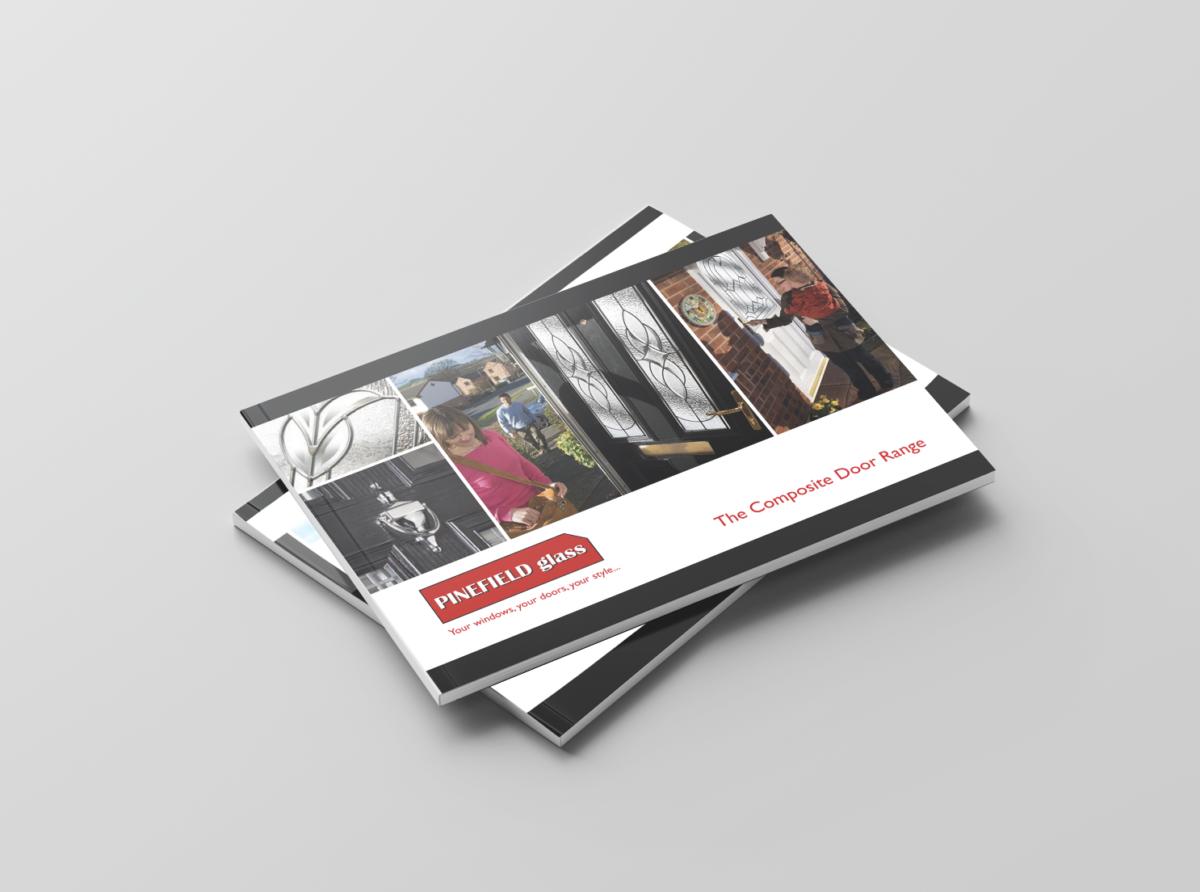 Pinefield Glass - Various Brochure Designs